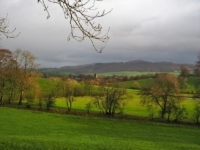 Gargrave and Flasby Fell from Mosber Lane