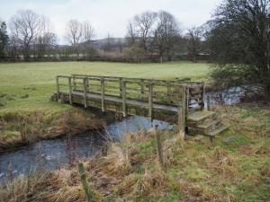Footbridge over Hambleton Beck