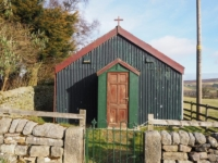 The prefab chapel in Heathfield