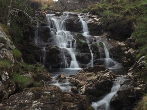The waterfall in Penny Farm Gill