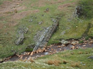 Interesting rocks in Penny Farm Gill