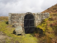 The mine at the top of Bolton Gill