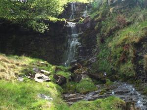 The Hanging Lund waterfall