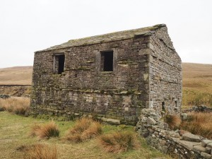 An old barn, possibly called Sleddale House