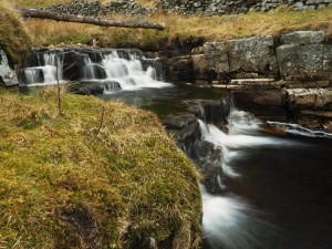 Small waterfall on Great Sleddale Beck