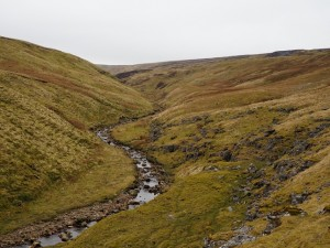 The upper reaches of Great Sleddale Beck
