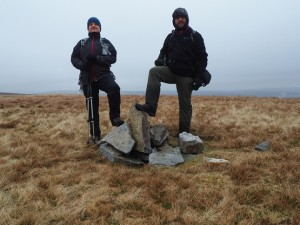 Me and Paul on the top of Archy Styrigg