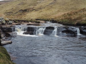 A small waterfall on Birkdale Beck
