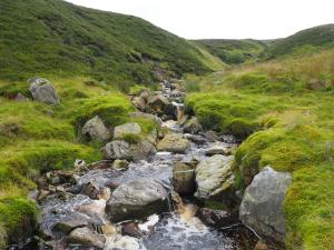 Following Uldale Beck upstream