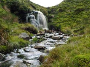 The falls just below Uldale Head