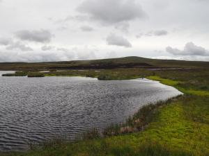 The larger of the two Lodge Hags Tarns