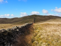Approaching the top of Hoggs Hill