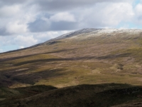 A slight covering of snow on Great Coum