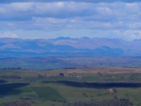 A view of the Lakeland Fells from Hoggs Hill