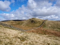 Looking back at Hoggs Hill
