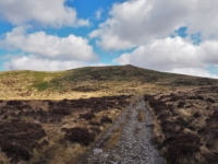 Looking back at Brownthwaite Pike