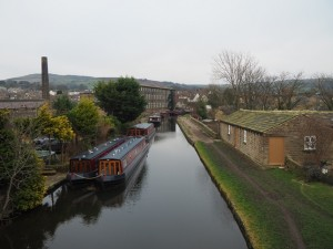 The Leed-Liverpool Canal at Silsden