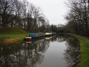 The canal beneath Lodge Hill