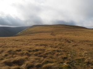 Looking along Hooksey's ridge