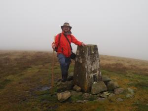 By the trig point on Green Bell