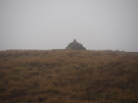 The cairn on the top of Horse Head Moor
