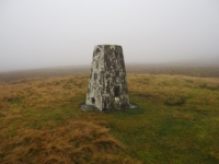 The Horse Head trig point