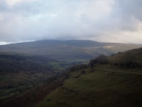 A view of Buckden Pike