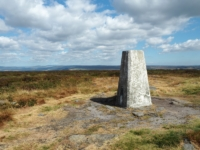 The Rombalds Moor trig point