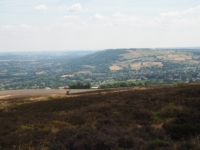 Looking towards the Otley Chevin