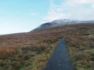 Continuing up the path towards Ingleborough