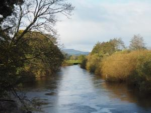 The River Ure and Pen Hill from Kilgram Bridge