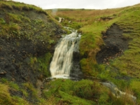 A small waterfall in Cray Gill