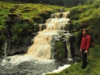 Another fine waterfall in Back Gill