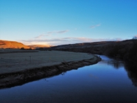 Early morning by the River Wharfe