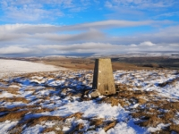 The Kilnsey Moor trig point