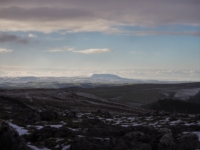 The view south-west towards Pendle Hill