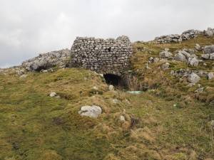 The first kiln we saw on Malham Moor