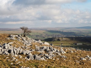 A view of Grassington