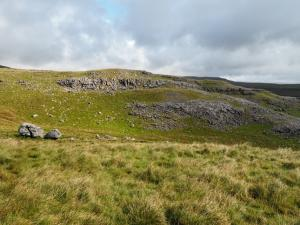 Limestone scars to the north of Tow Scar