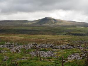 Ingleborough from the Turbary Road