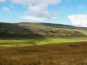 Looking across Kingsdale to Gragareth