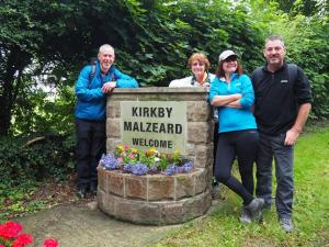 Leaving Kirkby Malzeard
