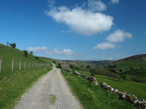 The track from Stonesdale Lane to East Stonesdale