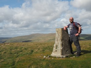 By the Middlesmoor Pasture trig point