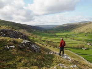 The view of Wharfedale from Gate Cote Scar