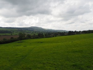 Looking back at Pen Hill