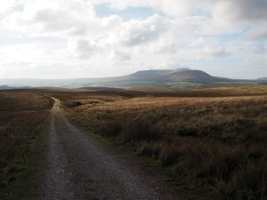 Looking back down the Pennine Way