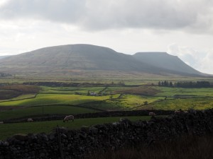 Park Fell and Ingleborough