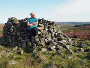 By the large cairn on Lippersley Pike
