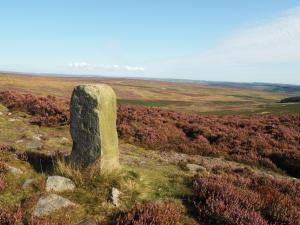 The boundary stone on Lippersley Pike